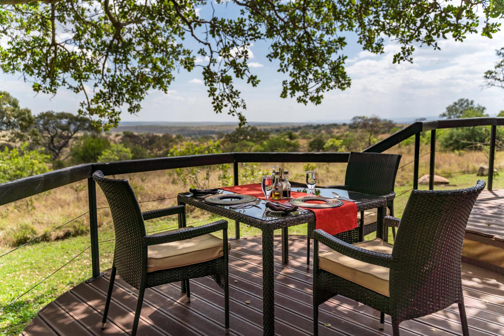 Lemala Kuria Hills_Dining area