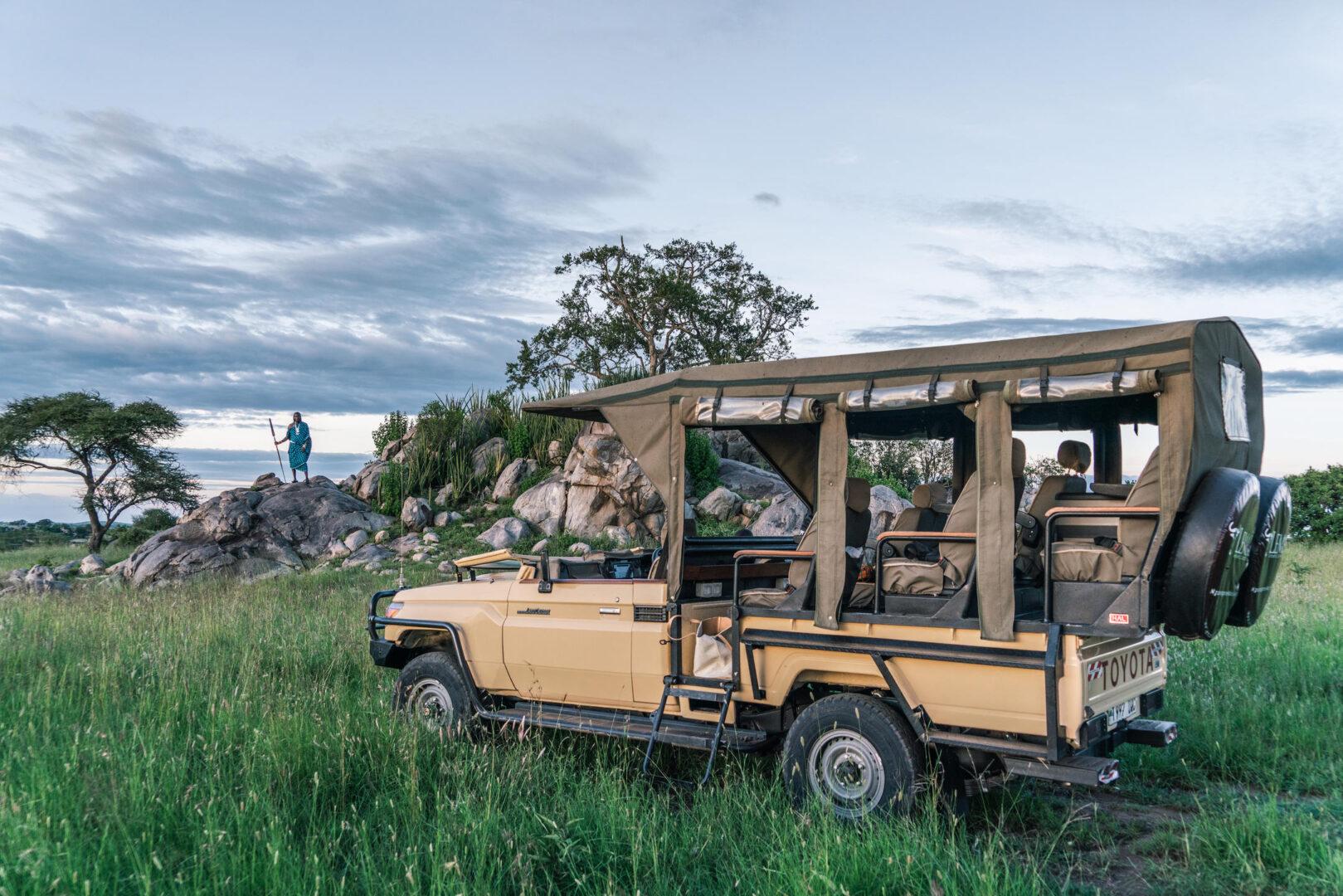 Lemala Kuria Hills_safari vehicle