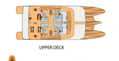 Tip Top II - Deck Plan