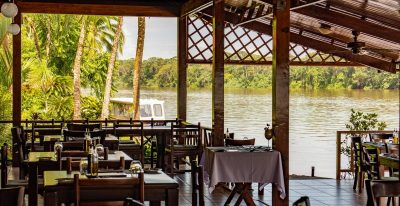Tortuga Lodge - Dining