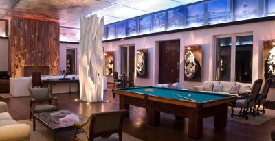 Estancia Vik_billiards room