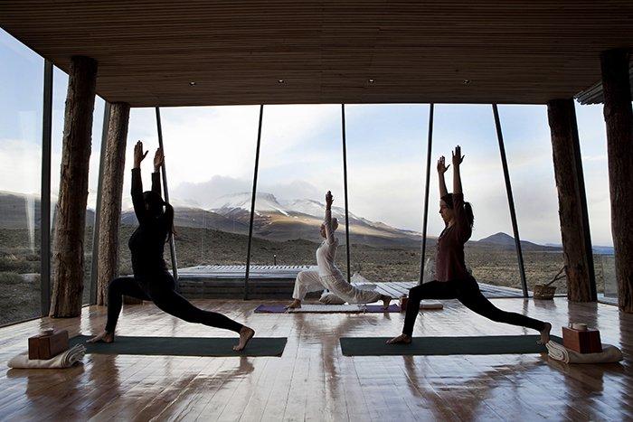 Yoga at Tierra Patagonia