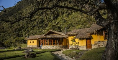 Peru - Colpa Lodge - Exterior