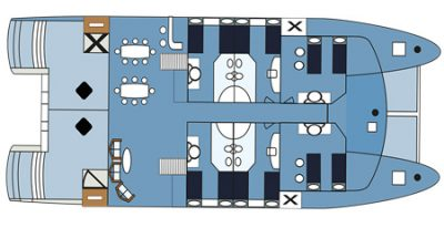Seaman Journey - Deck Plan - Main Deck