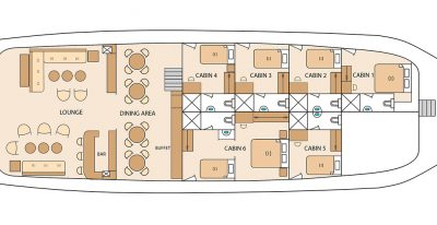 Solaris - Deck Plan - Main Deck