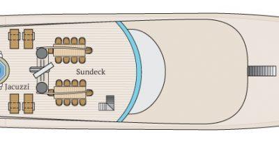 Infinity - Deck Plan - Sun Deck