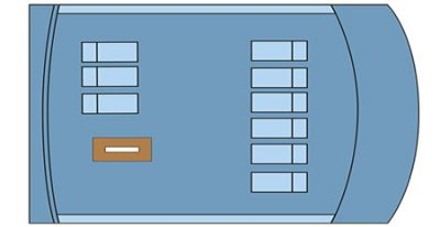 Seaman Jounrey - Deck Plan - Sun Deck