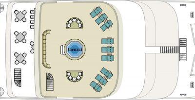 Alia - Sun-deck Plan