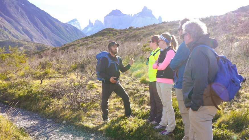 Chile - Patagonia - Torres del Paine - Hiking with Guide