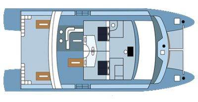 Seaman Journey - Deck Plan - Upper Deck